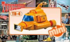 Mini Thunderbird 4 - International Rescue Thunderbirds