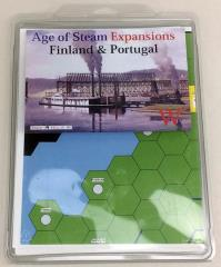 Age of Steam Expansion - Finland & Portugal