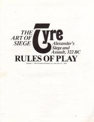 Art of Siege, The - Tyre