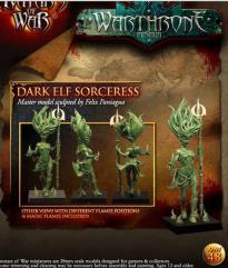 Dread Elf Exalted Oracle