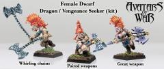 Dwarf Female Dragon/Vengeance Seeker (Kit)