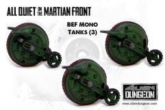 British Mono Tanks (1st Printing)