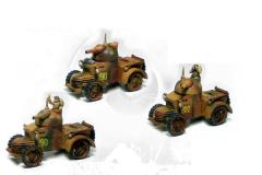 British Defiant Armored Cars (1st Printing)