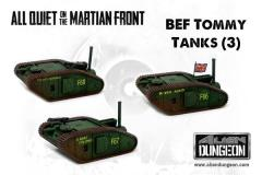 British Tommy Tanks (1st Printing)
