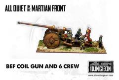 British Coil Gun w/Crew (1st Printing)