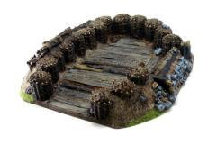 Siege Fortification - Single Gun Redoubt
