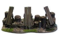 Siege Fortification - 3 Manlet Siege Section