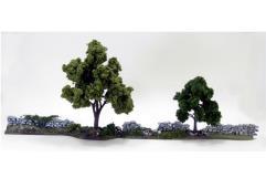 Overgrown Stone Wall Set