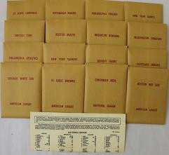APBA Baseball 1922 Player Cards - Complete Set (1982 Printing)