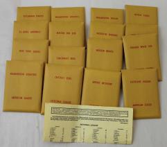 APBA Baseball 1950 Player Cards - Complete Set (1984 Printing)