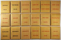 APBA Football 1979 Player Cards
