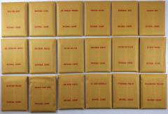 APBA Baseball 1980 Player Cards - Complete Set (1981 Printing)