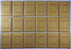 APBA Baseball 1982 Player Cards - Complete Set (1983 Printing)