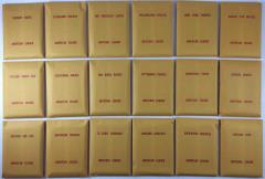APBA Baseball 1984 Player Cards - Complete Set (1985 Printing)