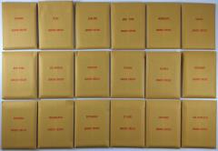 APBA Baseball 1987 Player Cards - Complete Set (1988 Printing)