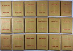 APBA Baseball 1972 Player Cards - Complete Set (1973 Printing)
