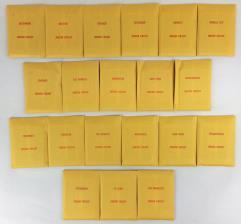 APBA Baseball 1964 Player Cards - Complete Set (1989 Printing)