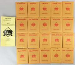 APBA Baseball 1964 Player Cards - Complete Set (2006 Printing)