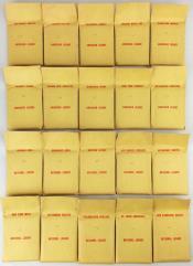 APBA Baseball 1965 Player Cards - Complete Set (1966 Printing)