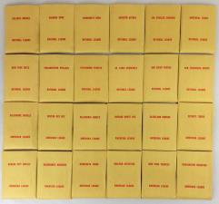 APBA Baseball 1970 Player Cards - Complete Set (1971 Printing)