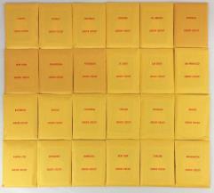 APBA Baseball 1971 Player Cards - Complete Set (1993 Printing)
