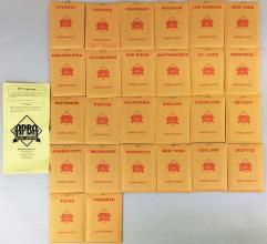 APBA Baseball 1977 Player Cards - Complete Set (2006 Printing)