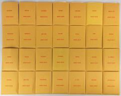 APBA Baseball 1993 Player Cards - Complete Set (1994 Printing)