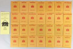 APBA Baseball 1993 Player Cards - Complete Set (2007 Printing)