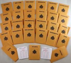 APBA Basketball 1994-95 Player Cards