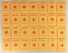 APBA Baseball 1996 Player Cards - Complete Set