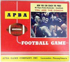 APBA Pro League Football Game (1978 Teams)