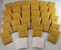 APBA Football 1988 Player Cards