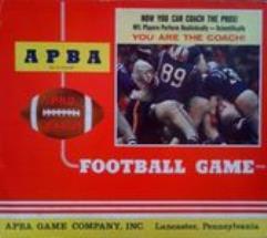 APBA Pro League Football Game (1973 Teams)