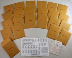 APBA Basketball 1986-87 Player Cards