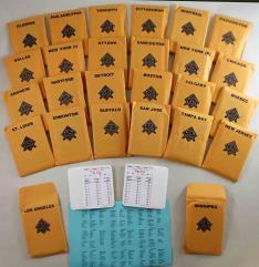APBA Hockey 1994-95 Player Cards
