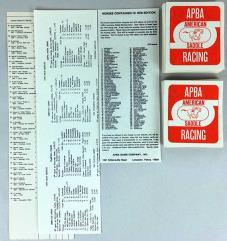 Saddle Racing Horses & Jockeys (1976 Season)