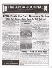 "#10 ""2001 World Series Replay Card Set, 25 Years of APBAlone, Journey into the Mind of the Replayer"""