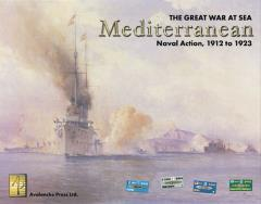 Great War at Sea #1 - The Mediterranean (2nd Edition, 2nd Printing)
