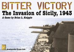 Bitter Victory - The Invasion of Sicily - 1943 (1st Printing)