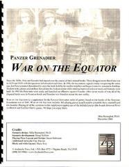 War on the Equator