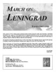 March on Leningrad