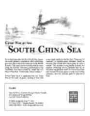 South China Sea w/Map