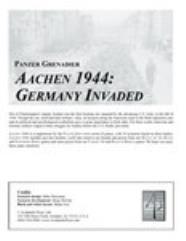 Aachen 1944 - Germany Invaded