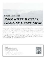Roer River Battles - Germany Under Siege