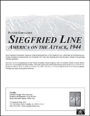 Siegfried Line - America on the Attack, 1944