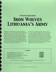 Iron Wolves - Lithuania's Army