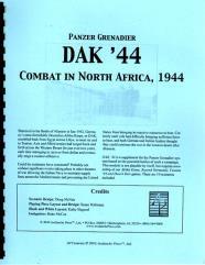 Dak '44 - Combat in North Africa, 1944