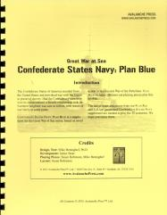 Confederate States Navy - Plan Blue (Gold Club Exclusive)