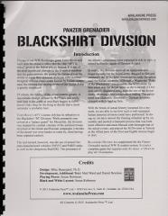Blackshirt Division (Gold Club Exclusive)