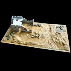 North African Outpost Kit & Base